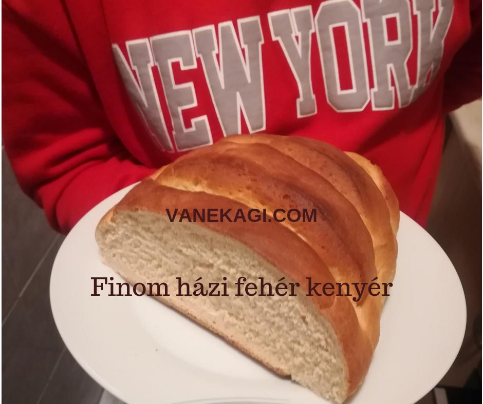 Nem kenyérsütő géppel! Kézzel készült minden lépése - vanekagi.com